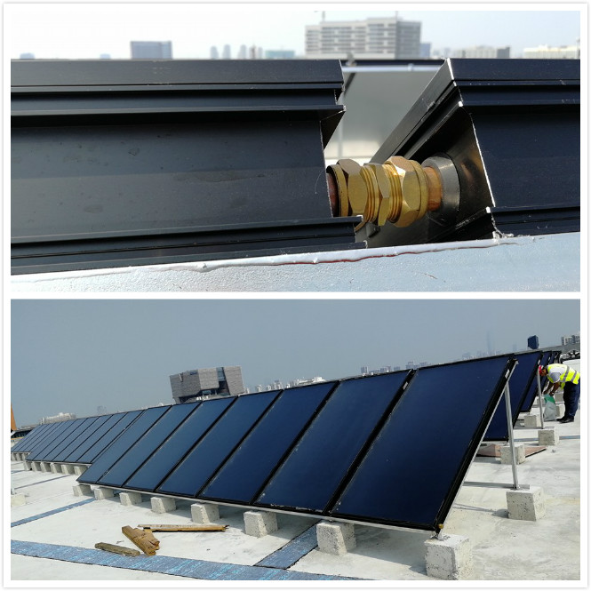 solar flat plate system